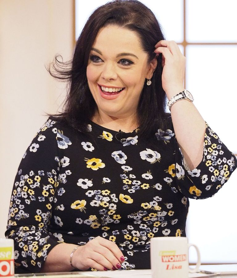 Lisa Riley didnt recognise herself after excess skin