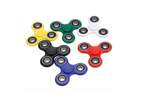 Finger spinners in various different colours