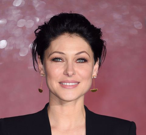 emma willis on the red carpet of the voice final