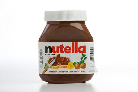 A jar of Nutella spread