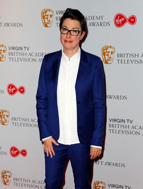 Sue Perkins attends the British Academy Television and Craft Awards nominations party at Mondrian London on April 20, 2017