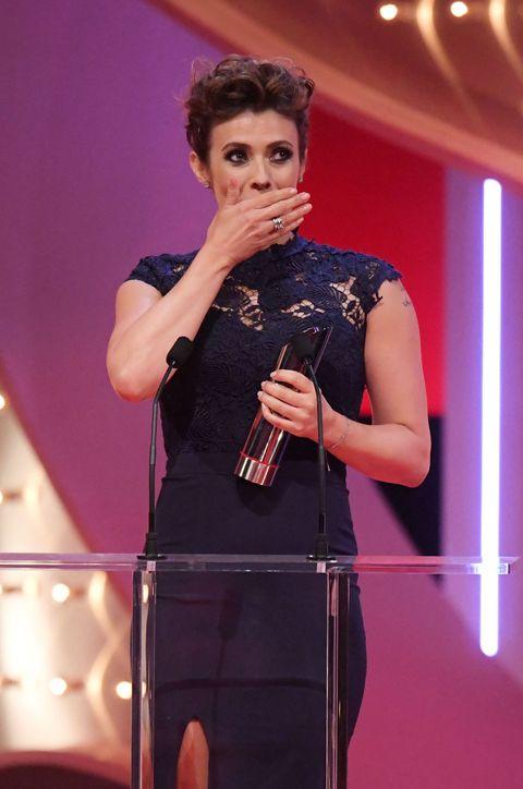 Kym Marsh at the British Soap Awards 2017