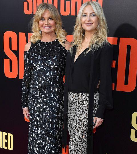 Goldie Hawn and Kare Hudson