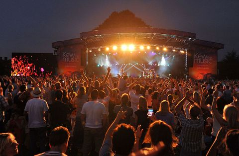 Kew the Music, outdoor events summer