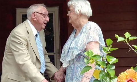 Paul and Imogene Miller viral video clip