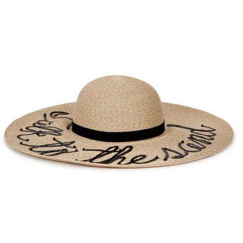 c50dcd86cb814 Aldi s £3.49 Straw Hat Looks Loads Like a cult designer one that s ...