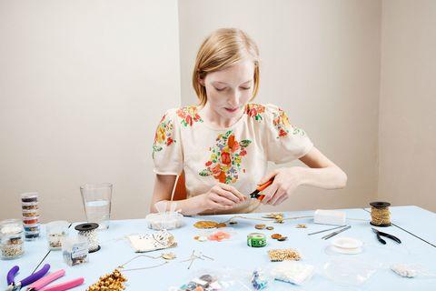 make money homemade jewellery