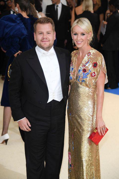 James Corden and Julia Carey at  Art Of The In-Between' Costume Institute Gala