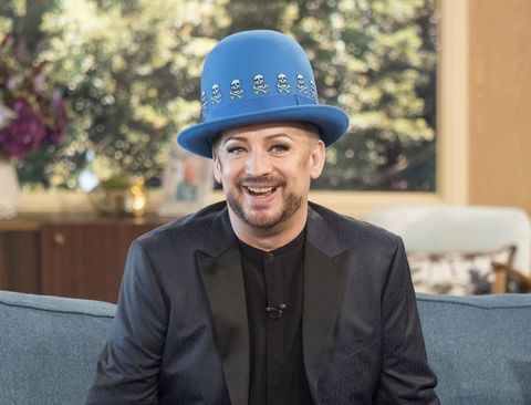 Boy George on This Morning with Ruth Langsford and Eammon Holmes talks new music