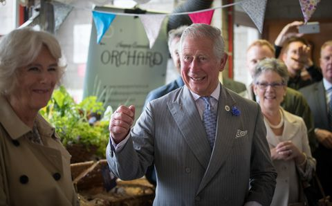 Prince Charles, Prince of Wales and Camilla, Duchess of Cornwall arrive at Newquay Fire Station to meet residents from Tregunnel Hill, a mixed-use neighbourhood built on Duchy of Cornwall land comprising open-market and affordable homes, during their annual trip to Devon and Cornwall on July 21, 2017 in Cornwall, England. The Prince of Wales also holds the title Duke of Cornwall