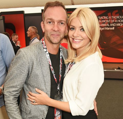 Holly Willoughby and husband