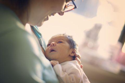 newborn mum