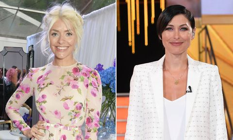 Holly Willoughby and Emma Willis