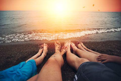 Sky, Sea, Beach, Leg, Vacation, Sand, Water, Horizon, Ocean, Sun tanning,
