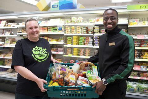 M&S  food waste scheme