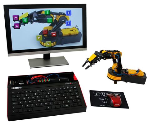 "<p>The FUZE is an all in one coding workstation ideal for kids of any ages who are learning to code, and aims to bridge the gap between play and real-world coding. Children can design, write and code their own programs and games, experiment with simple electronics and control external robots with this solid personal computer. </p><p>The FUZE comes preloaded with FUZE Coding Studio – the perfect stepping stone between visual coding languages like Scratch, and more complex languages like Python, and comes with step by step project cards to get children started.</p><p><strong data-redactor-tag=""strong"" data-verified=""redactor"">Plus points:</strong><span class=""redactor-invisible-space"" data-verified=""redactor"" data-redactor-tag=""span"" data-redactor-class=""redactor-invisible-space""> Bridges the gap to 'real' coding, also has an <a href=""http://www.fuze.co.uk/store/p20/FUZE_Project_-_We_are_the_robots%21.html"" data-tracking-id=""recirc-text-link"">immensely cool robot arm accessory</a>, as well as a range of other age-appropriate kits.<span class=""redactor-invisible-space"" data-verified=""redactor"" data-redactor-tag=""span"" data-redactor-class=""redactor-invisible-space""></span></span></p><p><span class=""redactor-invisible-space"" data-verified=""redactor"" data-redactor-tag=""span"" data-redactor-class=""redactor-invisible-space""><span class=""redactor-invisible-space"" data-verified=""redactor"" data-redactor-tag=""span"" data-redactor-class=""redactor-invisible-space""><strong data-redactor-tag=""strong"" data-verified=""redactor"">Ideal age:</strong><span class=""redactor-invisible-space"" data-verified=""redactor"" data-redactor-tag=""span"" data-redactor-class=""redactor-invisible-space""> 6+</span><br></span></span></p><p><span class=""redactor-invisible-space"" data-verified=""redactor"" data-redactor-tag=""span"" data-redactor-class=""redactor-invisible-space""><span class=""redactor-invisible-space"" data-verified=""redactor"" data-redactor-tag=""span"" data-redactor-class=""redactor-invisible-space""><span class=""redactor-invisible-space"" data-verified=""redactor"" data-redactor-tag=""span"" data-redactor-class=""redactor-invisible-space""><strong data-redactor-tag=""strong"" data-verified=""redactor"">Buy now:</strong><span class=""redactor-invisible-space"" data-verified=""redactor"" data-redactor-tag=""span"" data-redactor-class=""redactor-invisible-space""> <strong data-redactor-tag=""strong"" data-verified=""redactor""><br><br> </strong><a href=""/http://www.fuze.co.uk/"" data-tracking-id=""recirc-text-link""><strong data-redactor-tag=""strong"" data-verified=""redactor"">From £69.99, Fuze</strong></a></span><br></span></span></span></p><p><span class=""redactor-invisible-space"" data-verified=""redactor"" data-redactor-tag=""span"" data-redactor-class=""redactor-invisible-space""><span class=""redactor-invisible-space"" data-verified=""redactor"" data-redactor-tag=""span"" data-redactor-class=""redactor-invisible-space""><span class=""redactor-invisible-space"" data-verified=""redactor"" data-redactor-tag=""span"" data-redactor-class=""redactor-invisible-space""><br></span></span></span></p>"