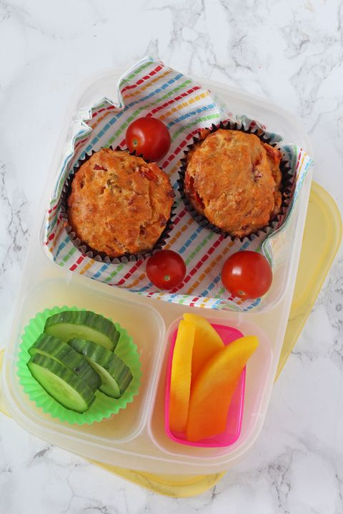 Kids packed lunch idea: Hummus wrap