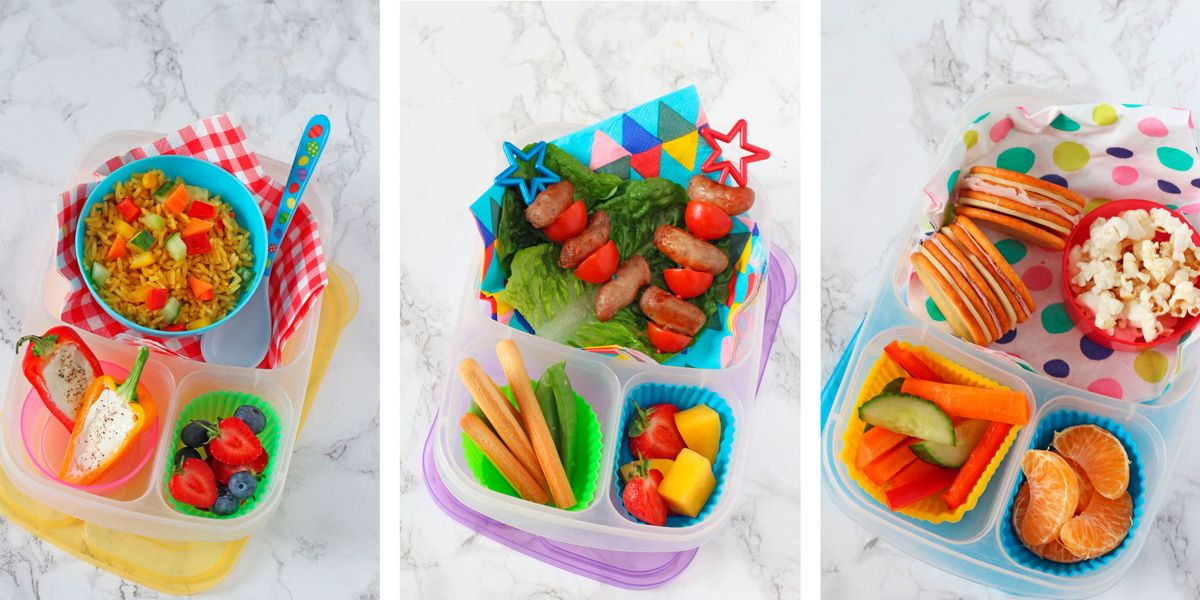 Kids packed lunch ideas that they'll actually eat