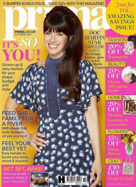 October Prima issue