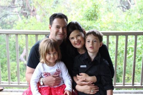 Family photo of Mel who wrote about when her husband went to prison