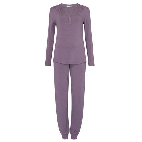 Sleeve, Collar, Textile, Standing, Blazer, Purple, Violet, Lavender, Fashion design, Pocket,