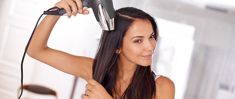 This is why you should never air-dry your hair