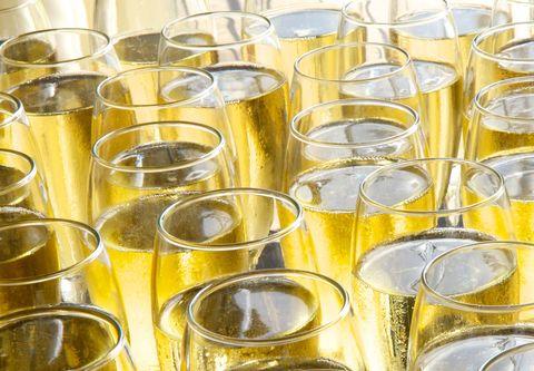 Glasses of Prosecco