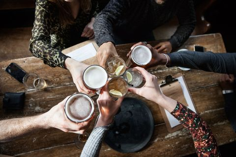 This is what happens to your body after all the heavy drinking at Christmas