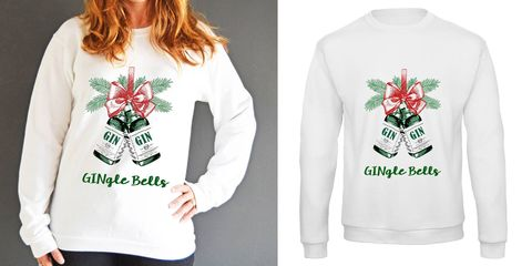 Not on the high street gingle bells jumper