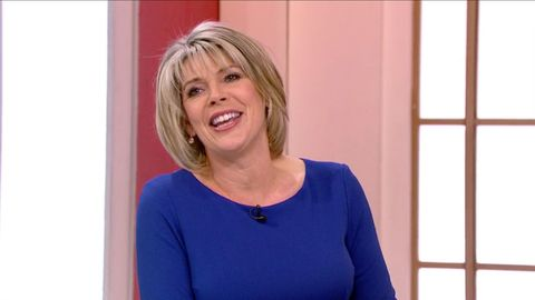 ruth langsford goes on safari and walks with elephants   right here in britain