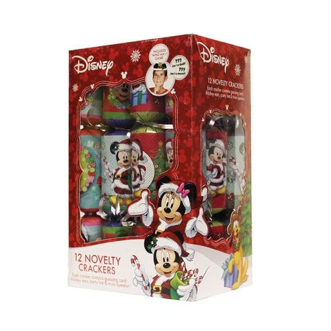 novelty disney christmas crackers including guessing game