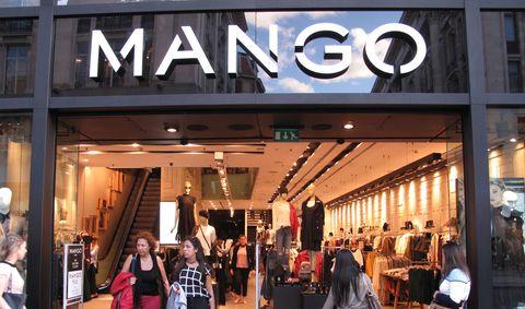 Mango clothes shop