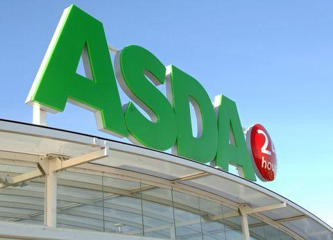 Asda shop sign