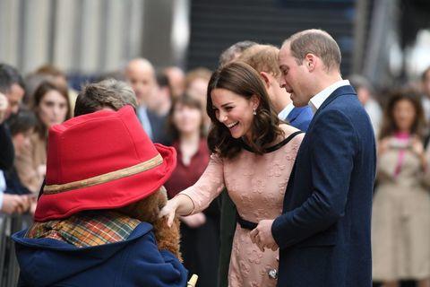 Kate Middleton meets Paddington Bear