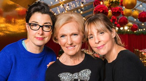 EMBARGOED UNTIL 22.15 ON 19/10: Mary, Mel and Sue's Surprise Party