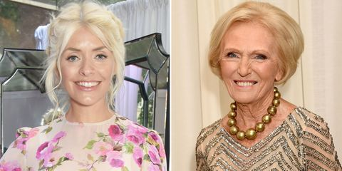 Holly Willoughby and Mary Berry