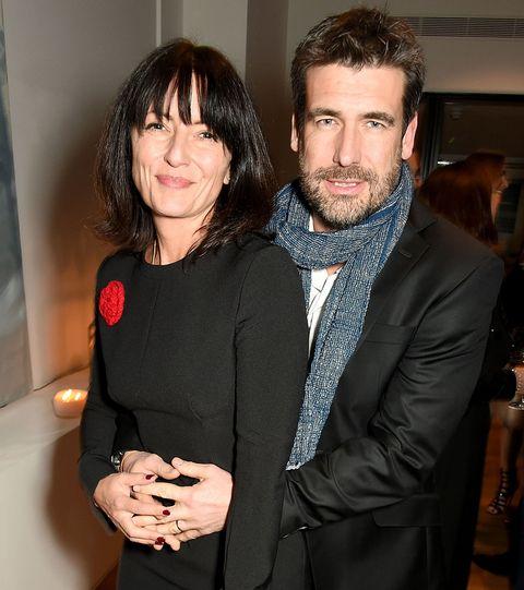 Davina McCall with husband