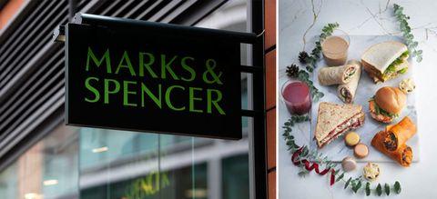 Marks & Spencer Christmas sandwiches