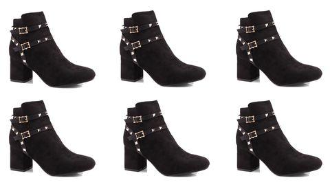 Boohoo black boots