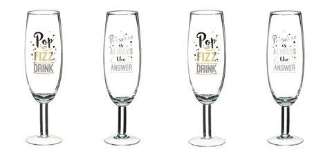 B&M Prosecco glasses