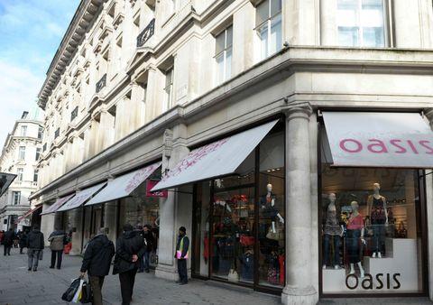 Oasis shop