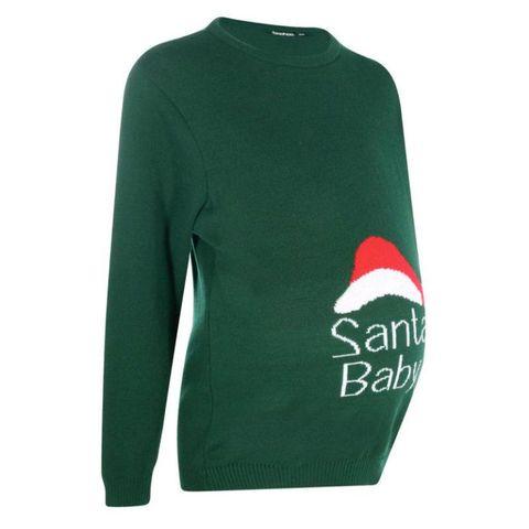 Boohoo Santa Baby jumper