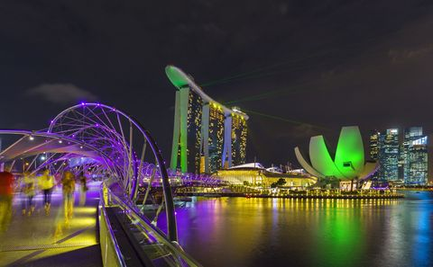 Singapore is the world's most welcoming city for tourists