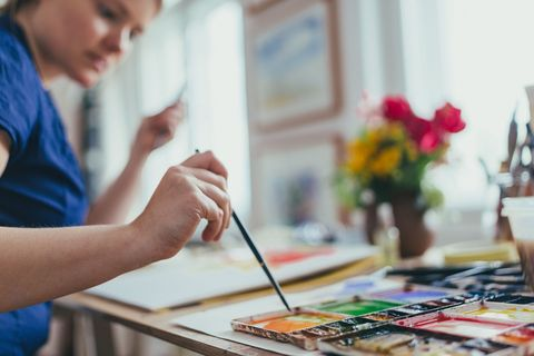 Art therapy could help tackle severe depression