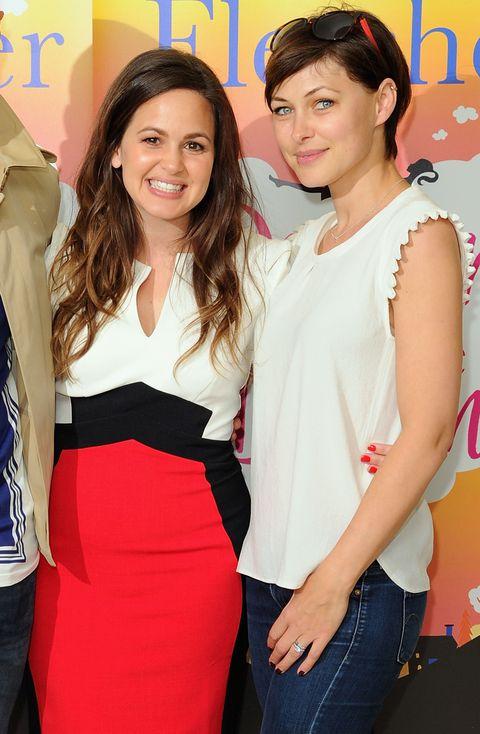 Giovanna Fletcher and Emma Willis