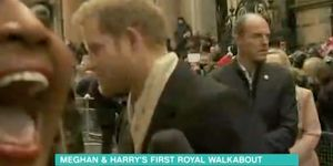 Alison Hammond, Prince Harry, First Royal Outing