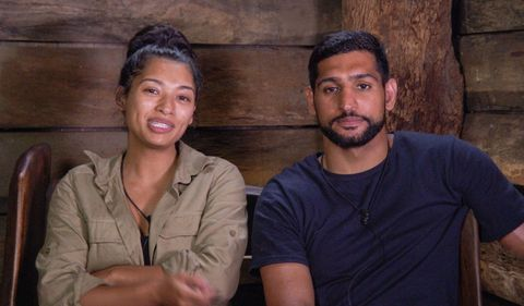 Vanessa and Amir I'm A Celebrity Get Me Out Of Here
