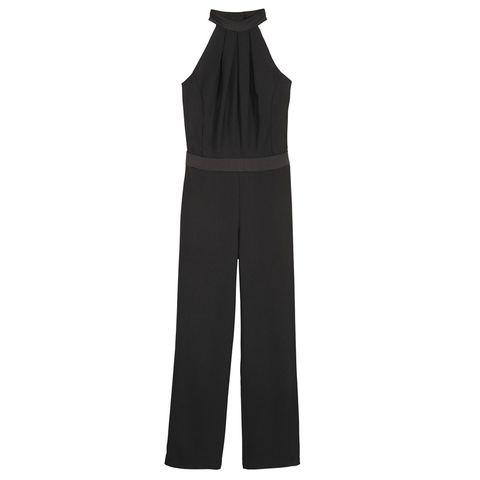 Clothing, Black, Overall, Trousers, Outerwear, Suit, Formal wear, Dress, One-piece garment, Sportswear,