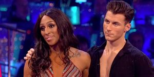 Alexandra Burke with Gorka Marquez on Strictly
