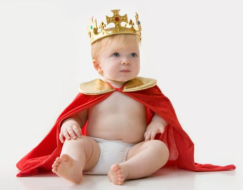 Baby in crown